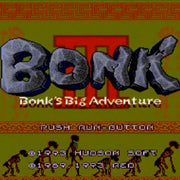 Bonk 3: Bonk's Big Adventure Reproduction TurboGrafx-16 Game - Screenshot 1