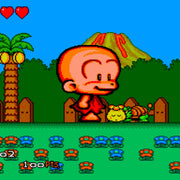 Bonk 3: Bonk's Big Adventure Reproduction TurboGrafx-16 Game - Screenshot 2