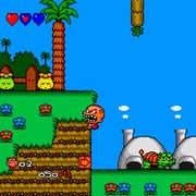 Bonk 3: Bonk's Big Adventure Reproduction TurboGrafx-16 Game - Screenshot 3