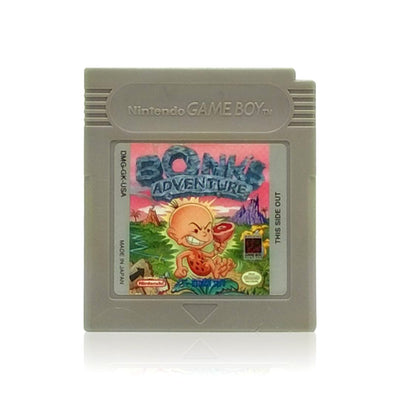Bonk's Adventure Nintendo Game Boy Game - Cartridge