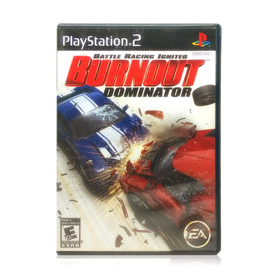 Burnout Dominator Sony PlayStation 2 Game - Case