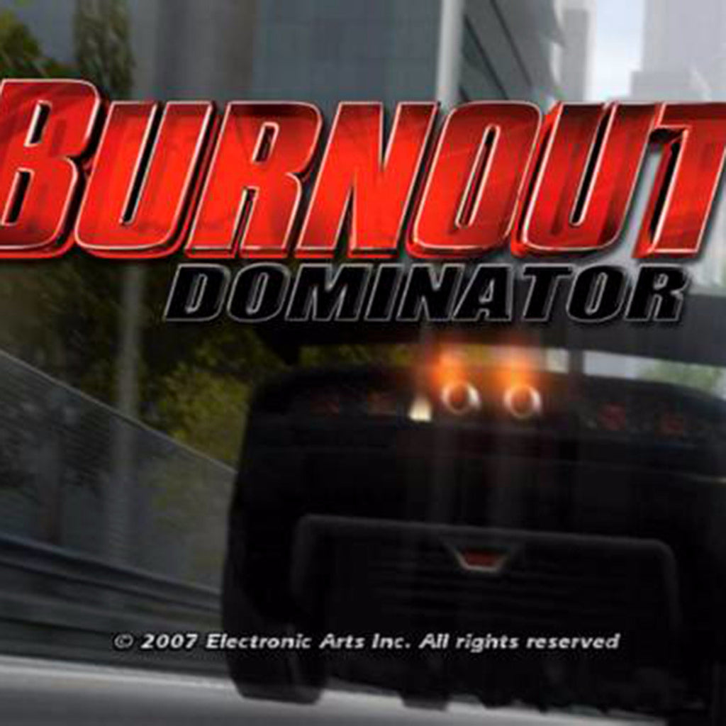 Burnout Dominator Sony PlayStation 2 Game - Screenshot 1