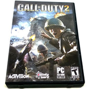 Call of Duty 2 for PC CD-ROM - Front of case