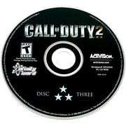 Call of Duty 2 for PC CD-ROM - Game disc 3
