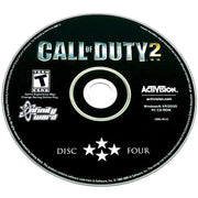 Call of Duty 2 for PC CD-ROM - Game disc 4