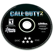 Call of Duty 2 for PC CD-ROM - Game disc 5