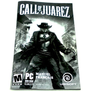 Call of Juarez for PC DVD-ROM - Back of manual
