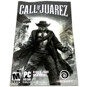 Call of Juarez for PC DVD-ROM - Front of manual