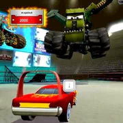 Cars Toon: Mater's Tall Tales Nintendo Wii Game - Screenshot
