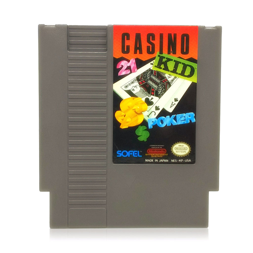 Casino Kid NES Nintendo Game