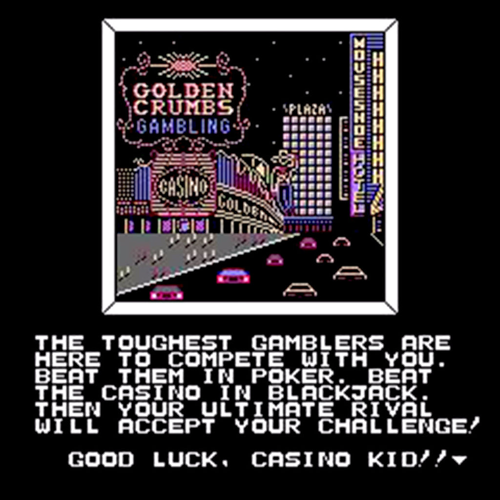 Casino Kid NES Nintendo Game - Screenshot