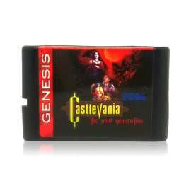 Castlevania: The New Generation Sega Genesis Game