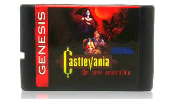 Castlevania: The New Generation Sega Genesis Game - Cartridge