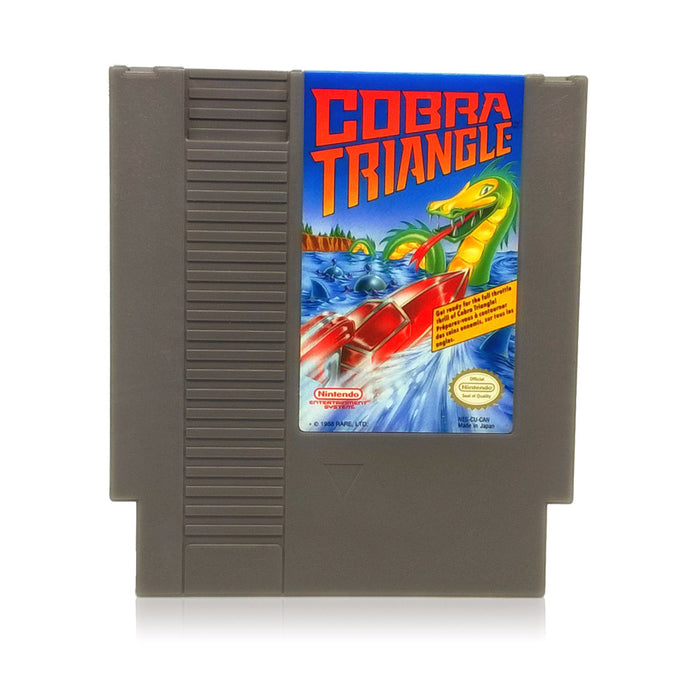 Cobra Triangle NES Nintendo Game - Cartridge