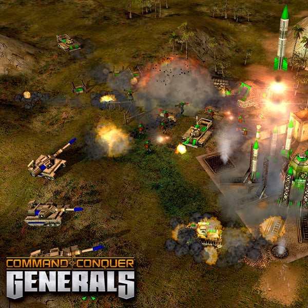 Ultimate Collection Jpg: Command & Conquer The Ultimate Collection PC Game Origin