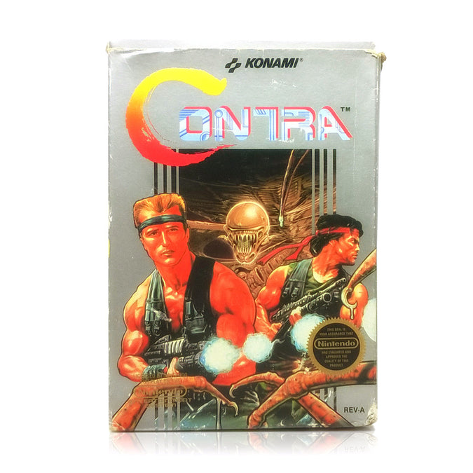 Contra NES Nintendo Game - Box