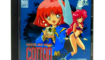 Cotton: Fantastic Night Dreams Reproduction TurboGrafx-16 CD Game - Case