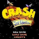 Crash Bandicoot: The Huge Adventure Nintendo GBA Game Boy Advance Game - Screenshot