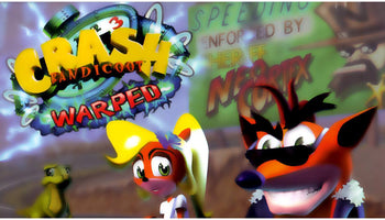 Crash Bandicoot: Warped Sony PlayStation Game