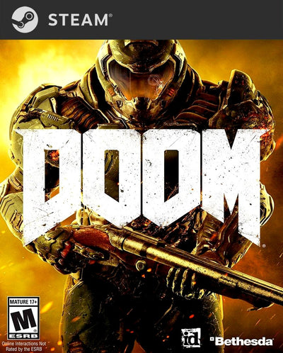 DOOM PC Game Steam Key