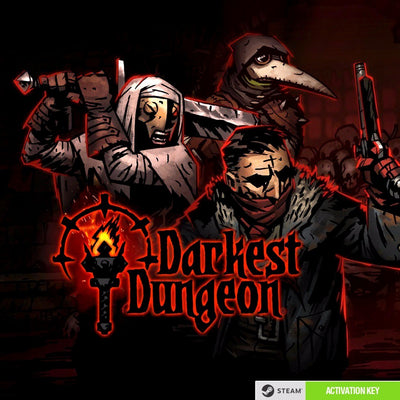 Darkest Dungeon PC Game Steam CD Key