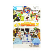Deca Sports 2 Nintendo Wii Game - Manual