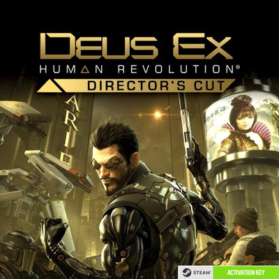 Deus Ex: Human Revolution - Director's Cut PC Game Steam CD Key