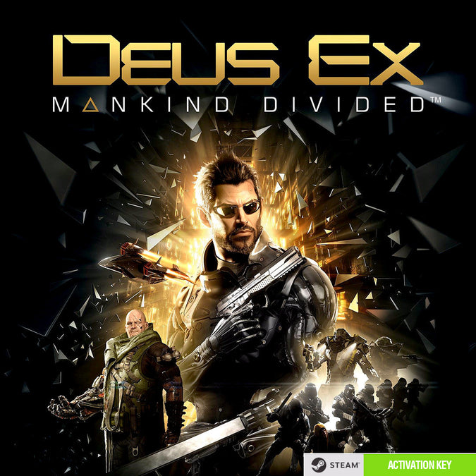 Deus Ex: Mankind Divided PC Game Steam CD Key