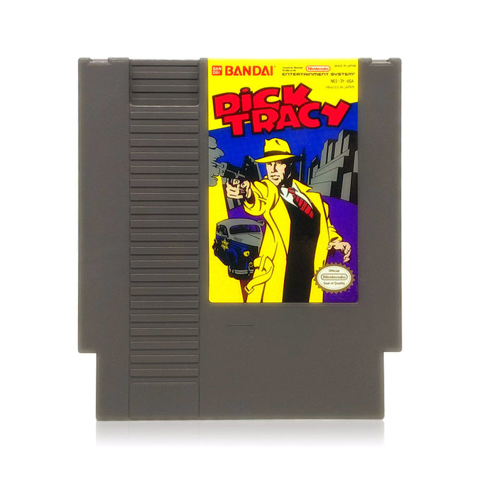 Dick Tracy NES Nintendo Game - Cartridge