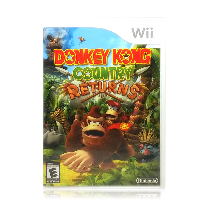 Donkey Kong Country Returns Nintendo Wii Game - Case