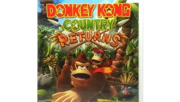 Donkey Kong Country Returns Nintendo Wii Game