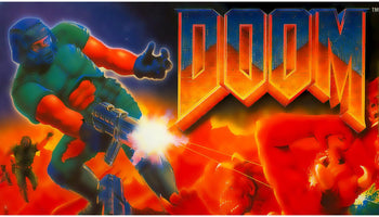 Doom SNES Super Nintendo Game