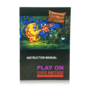 Dorke and Ymp SNES Super Nintendo Game - Manual