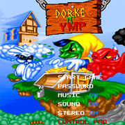 Dorke and Ymp SNES Super Nintendo Game - Screenshot