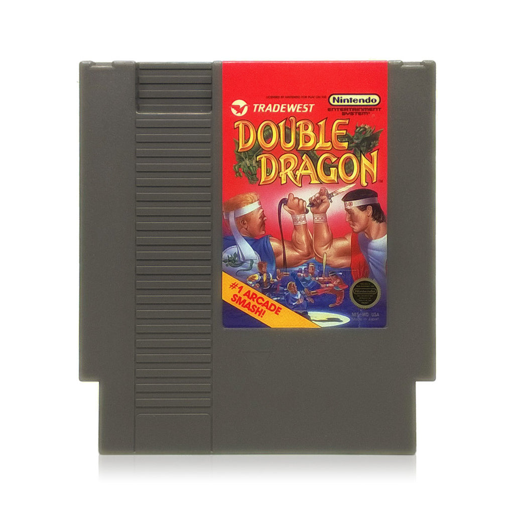 Double Dragon NES Nintendo Game - Cartridge