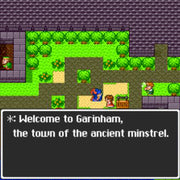 Dragon Quest I & II SNES Super Nintendo Game - Screenshot