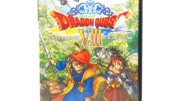 Dragon Quest VIII Japan Import Sony PlayStation 2 Game