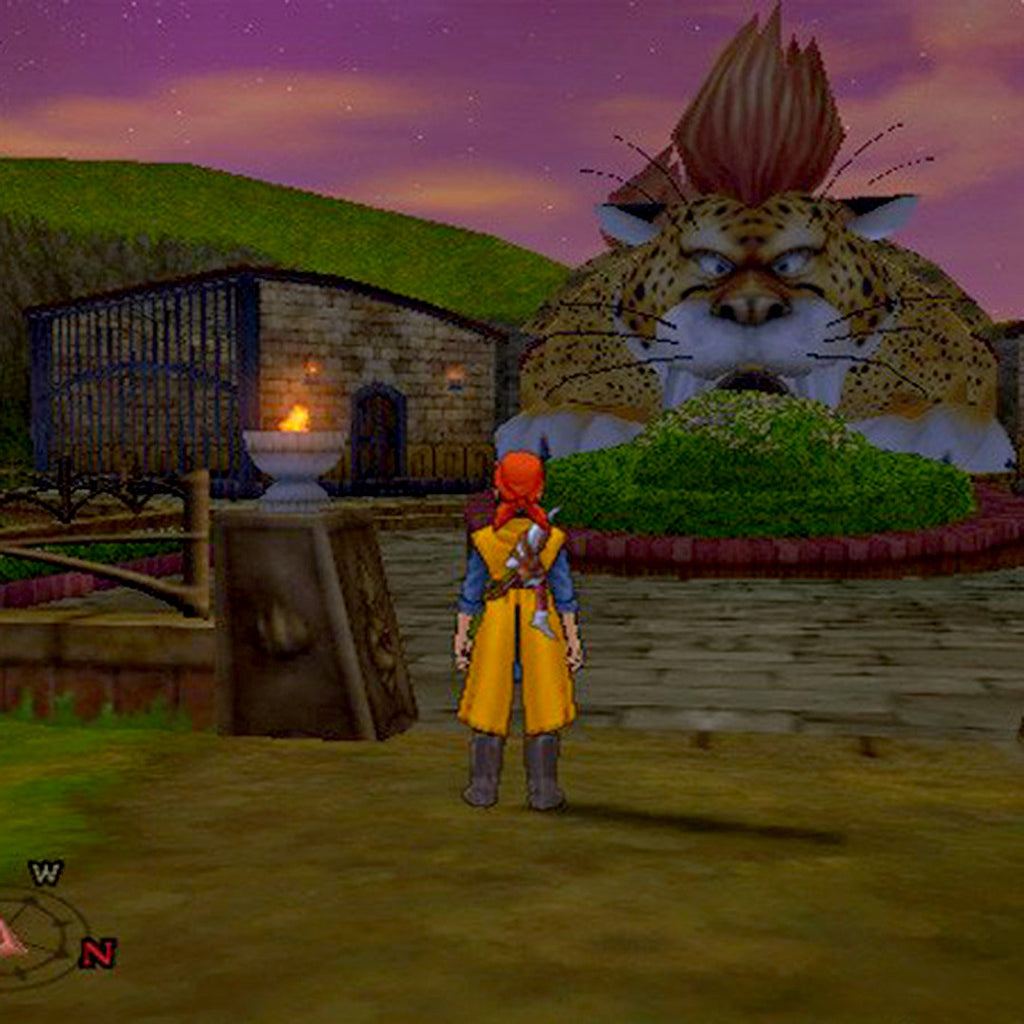Dragon Quest VIII: Sora to Umi to Daichi to Norowareshi Himegimi Japan Import Sony PlayStation 2 Game - Screenshot