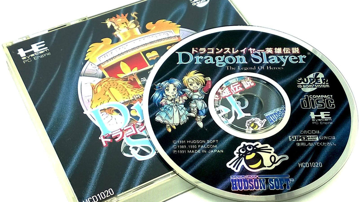 Dragon Slayer: The Legend of Heroes for PC Engine