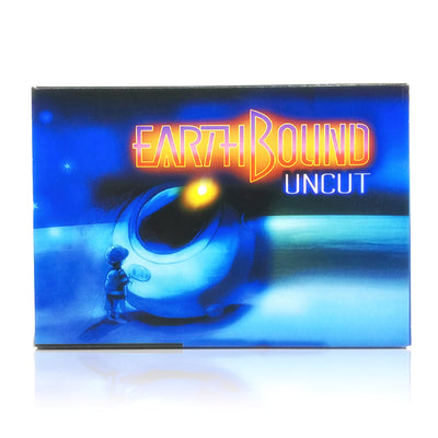 EarthBound: Uncut SNES Super Nintendo Game - Box