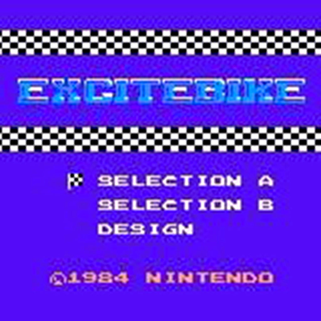 Excitebike Nintendo GBA Game Boy Advance Game - Screenshot