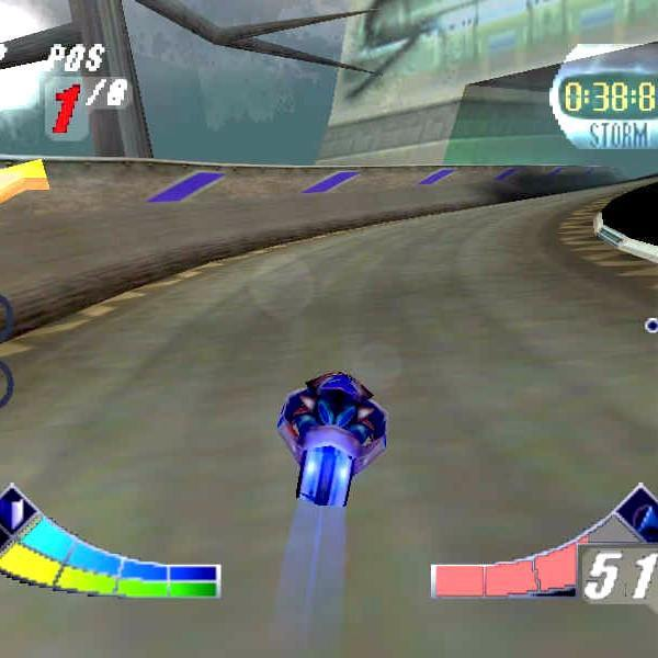 Extreme-G: XG2 Nintendo 64 N64 Game - Screenshot