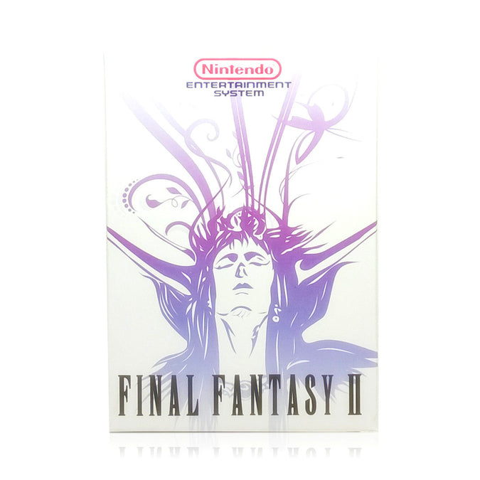 Final Fantasy II NES Nintendo Game - Box