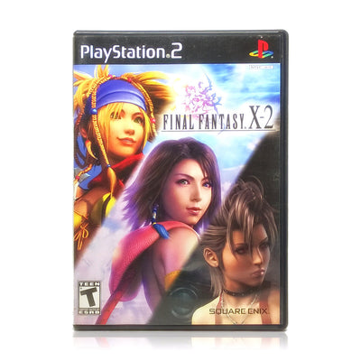 Final Fantasy X-2 Sony PlayStation 2 Game - Case