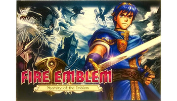 Fire Emblem: Mystery of the Emblem SNES Super Nintendo Game - Box