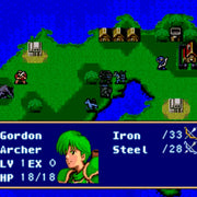 Fire Emblem: Mystery of the Emblem SNES Super Nintendo Game - Screenshot 3
