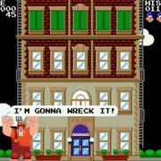 Fix-It Felix Jr. Sega Genesis Game - Screenshot