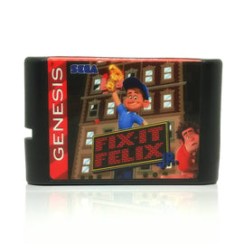 Fix-It Felix Jr. Sega Genesis Game
