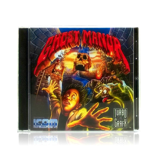 Ghost Manor Reproduction TurboGrafx-16 Game - Case