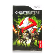 Ghostbusters: The Video Game Nintendo Wii Game - Manual